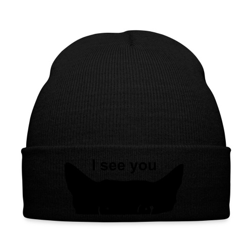Kitty I see you hat - Winter Hat