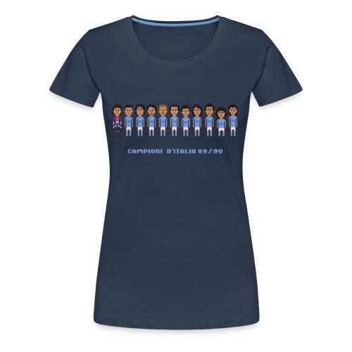 Men T-Shirt - Italian Champions 89/90 - Women's Premium T-Shirt