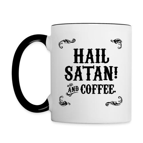 Hail coffee! - Contrasting Mug