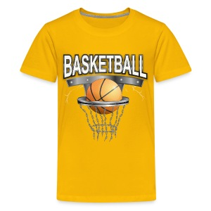 Basketball T-shirt für Kid´s - Teenager Premium T-Shirt