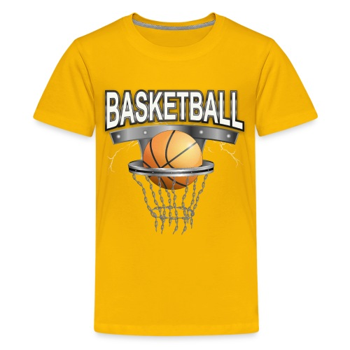 Basketball T-shirt für Kid´s - Teenager Premium T-Shirt