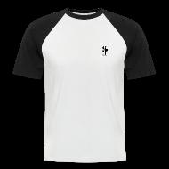 T-Shirts ~ Männer Baseball-T-Shirt ~ Kurzarm Shirt