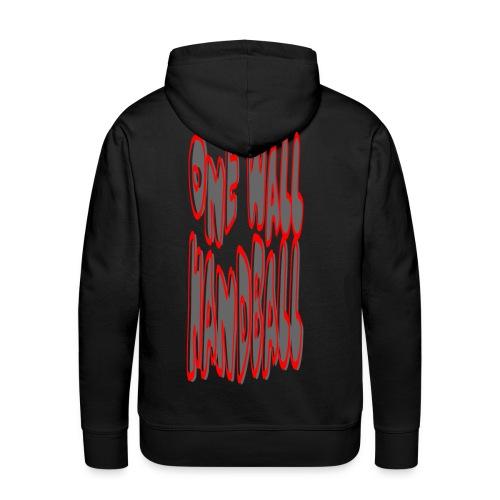 Hoodie On Fire - Mannen Premium hoodie