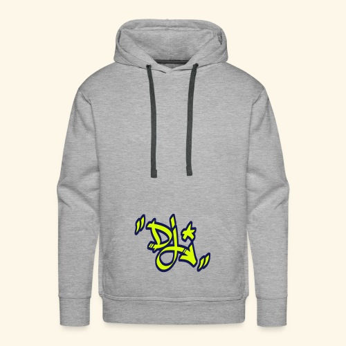 dj style graffiti - Sweat-shirt à capuche Premium pour hommes