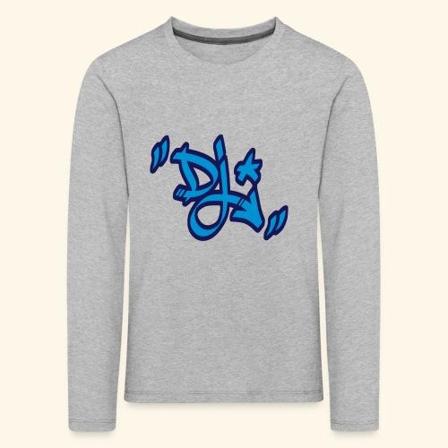 dj style graffiti - T-shirt manches longues Premium Enfant