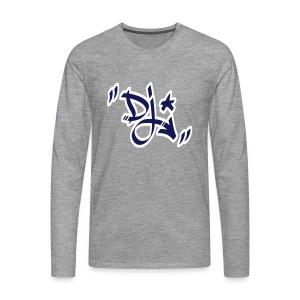 dj style graffiti - T-shirt manches longues Premium Homme
