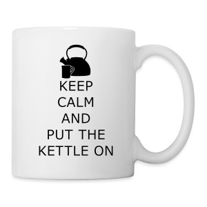 Keep calm and put the kettle on - Tasse