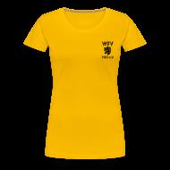 T-Shirts ~ Frauen Premium T-Shirt ~ WFV Fan-Shirt für Frauen