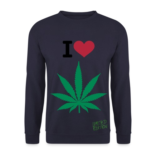 I Love Weed sweater - Mannen sweater