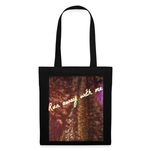 Run Away With me Canvas Bag - Tote Bag