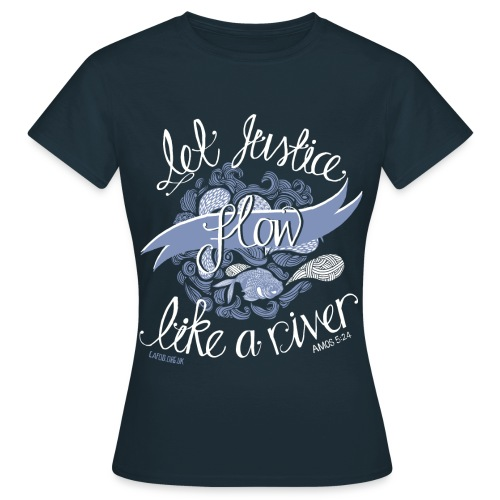 Let Justice Flow T-shirt - Women's T-Shirt