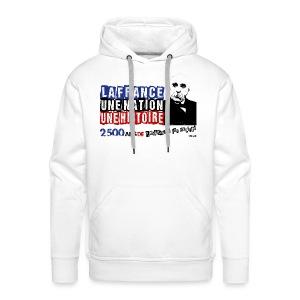 SWEAT à capuche homme Clemenceau - Sweat-shirt à capuche Premium pour hommes