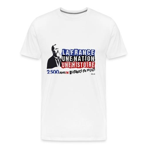 T-SHIRT premium homme Jean Jaurès - T-shirt Premium Homme