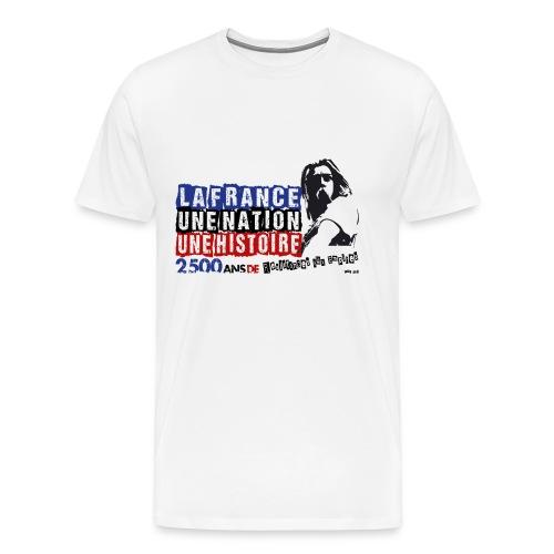 T-SHIRT premium homme Vercingétorix - T-shirt Premium Homme