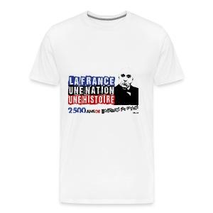 T-SHIRT premium homme clemenceau - T-shirt Premium Homme