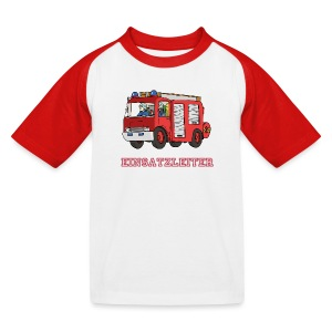 Fire Chief - Kinder Baseball T-Shirt