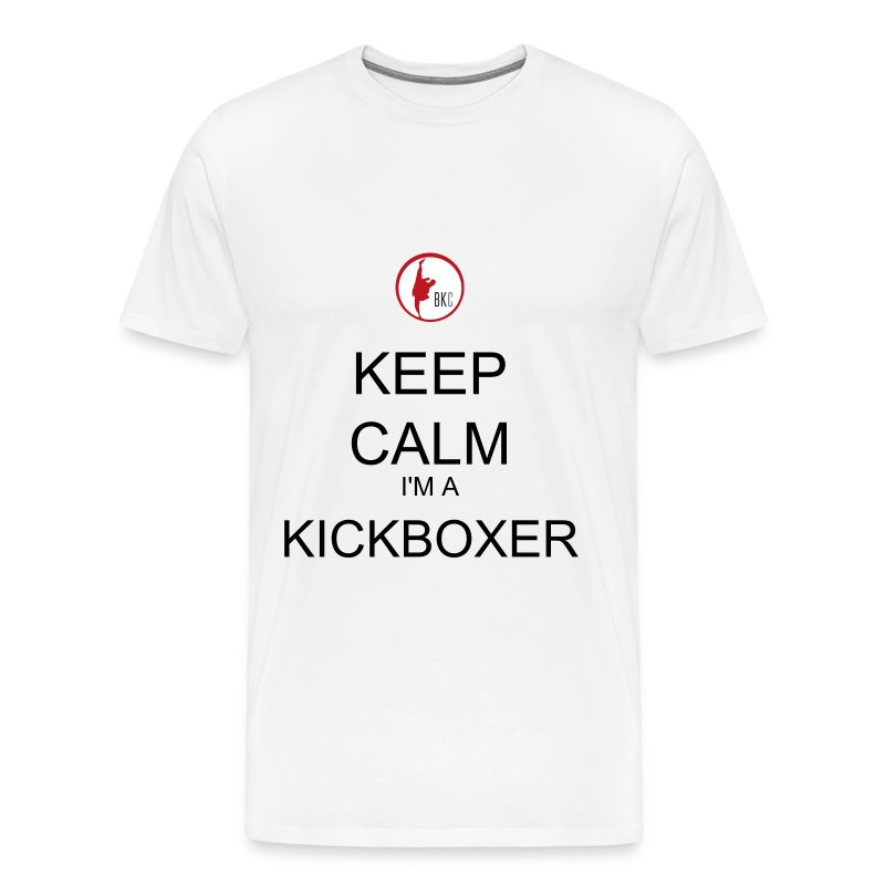Keep Calm I'm A Kickboxer - Men's Premium T-Shirt
