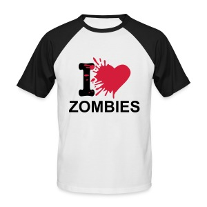 Love Zed´s - Männer Baseball-T-Shirt