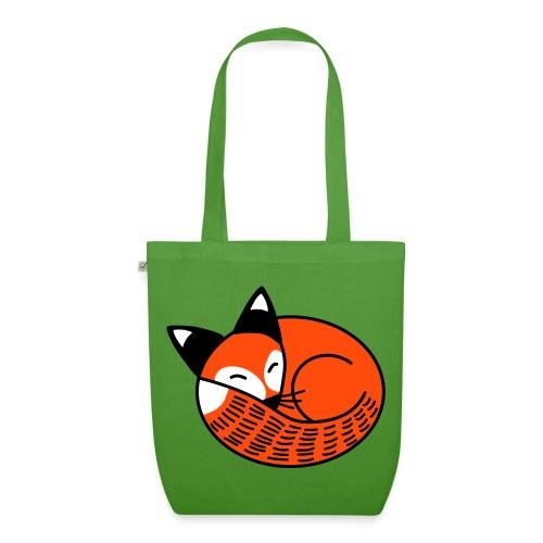 Sleepy Fox - EarthPositive Tote Bag