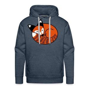 Sleepy Fox - Men's Premium Hoodie