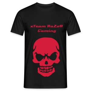 xTeam RaZoR Gaming Skull Tee - Men's T-Shirt