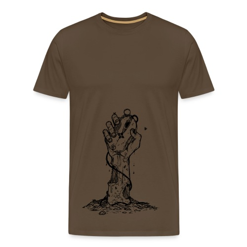 Zombie - Premium T-skjorte for menn