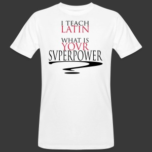 I TEACH LATIN - T-shirt bio Homme