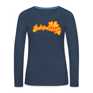 BOKPASSION - Långärmad premium-T-shirt dam