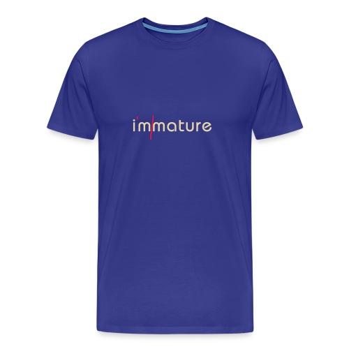 Immature - Men's Premium T-Shirt