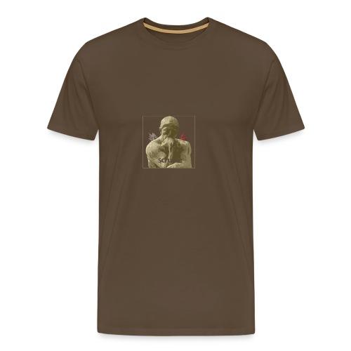Scruple - Deep Thought - Men's Premium T-Shirt