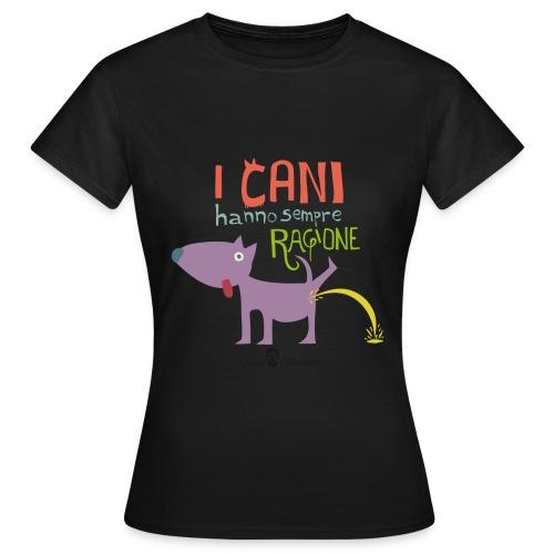 TSHIRT CANINA DONNA - Maglietta da donna