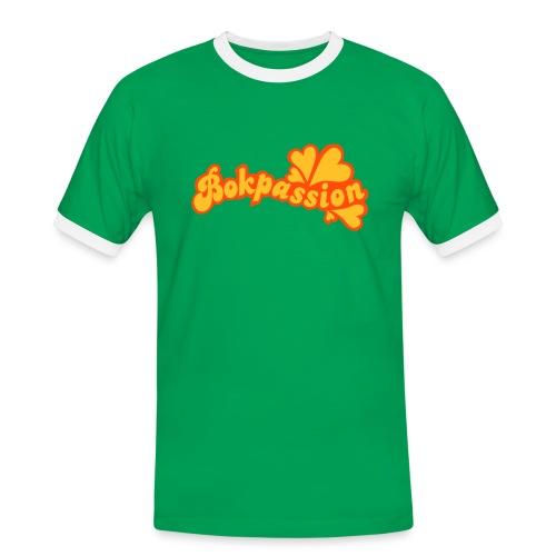 BOKPASSION - Kontrast-T-shirt herr
