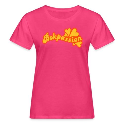 BOKPASSION - Ekologisk T-shirt dam