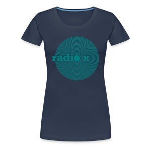 DISC emerald green - Foliendruck - Frauen Premium T-Shirt