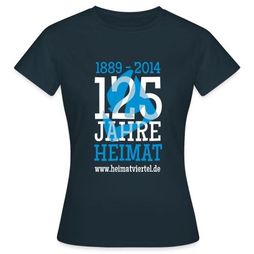 125 Jahre   - Frauen T-Shirt