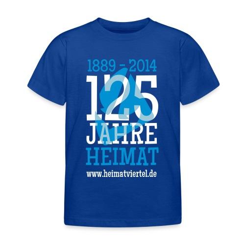 125 Jahre  - Kinder T-Shirt