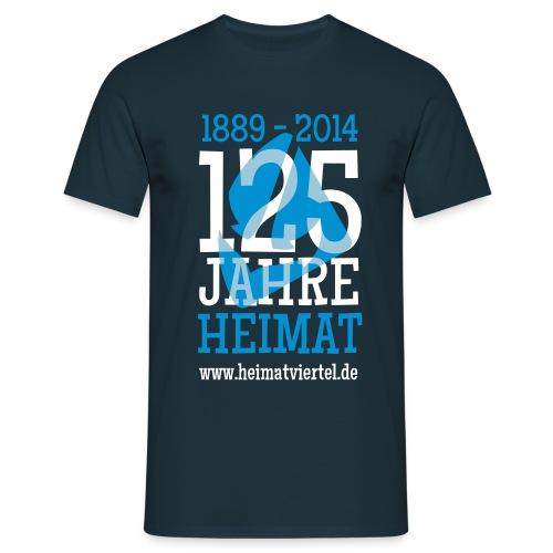 125 Jahre  - Männer T-Shirt