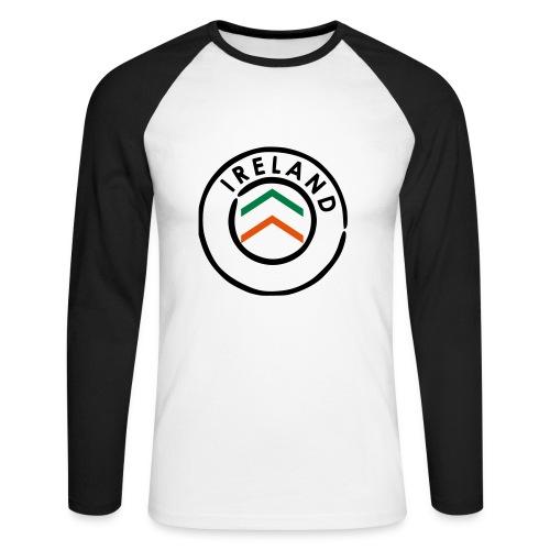 Ireland - Men's Long Sleeve Baseball T-Shirt
