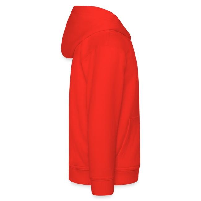 Sudadera con capucha niño roja- UDIMA