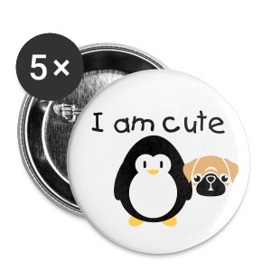I am cute 2 - Buttons middel 32 mm