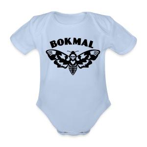 BOKMAL - Ekologisk kortärmad babybody