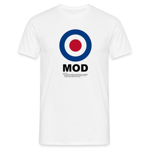 Mod Target Tee - Men's T-Shirt