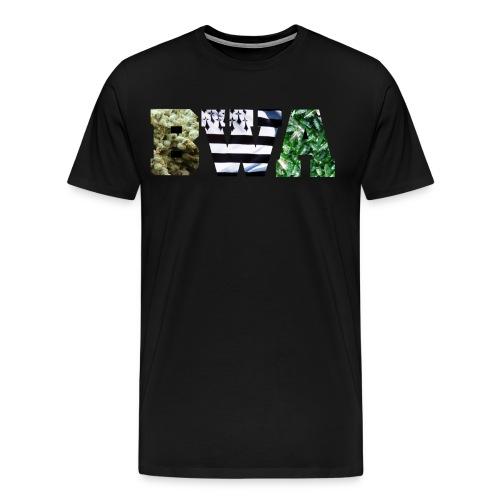 BWA Weed bzh bottles - T-shirt Premium Homme