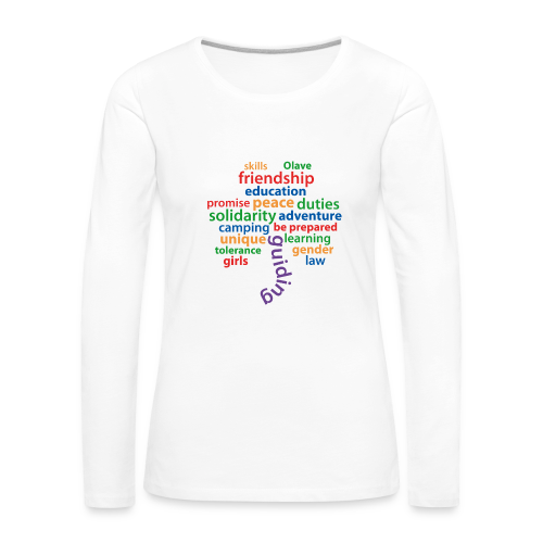 guiding is.. - longsleeve colored - Women's Premium Longsleeve Shirt