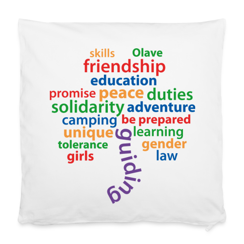 guiding is... - pillowcase - Pillowcase 40 x 40 cm