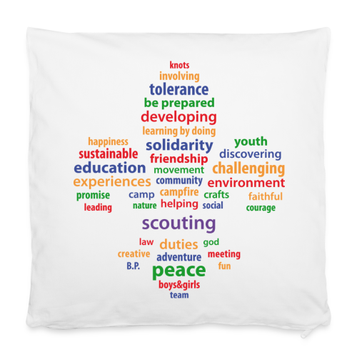 scouting is.. - pillowcase - Pillowcase 40 x 40 cm