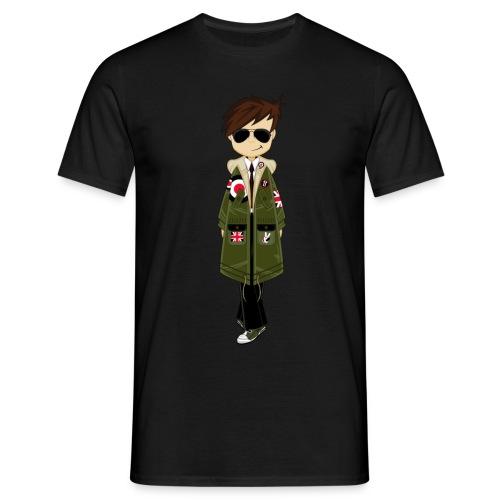 Cool Mod Boy Tee - Men's T-Shirt