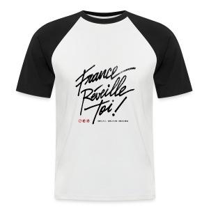 T-SHIRT de baseball homme France réveille toi - T-shirt baseball manches courtes Homme