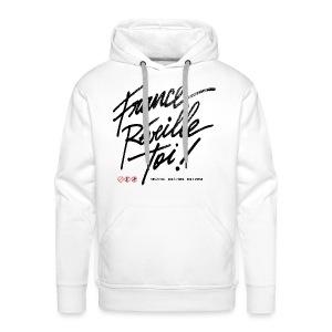 SWEAT à capuche homme France réveille toi - Sweat-shirt à capuche Premium pour hommes