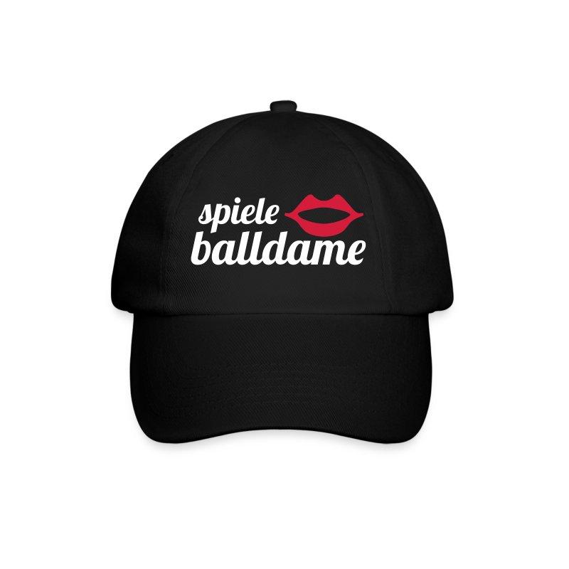 schriftzugballdame - Baseballkappe